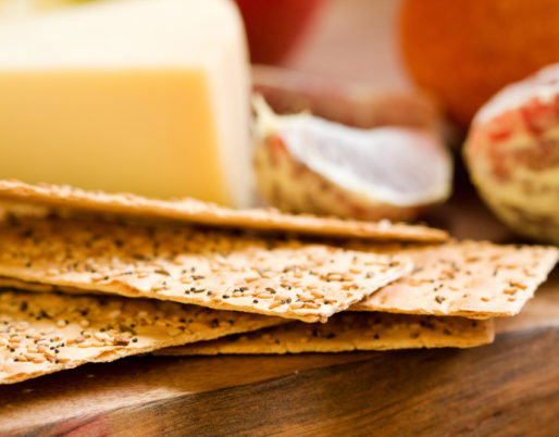 crackers sésame amarante