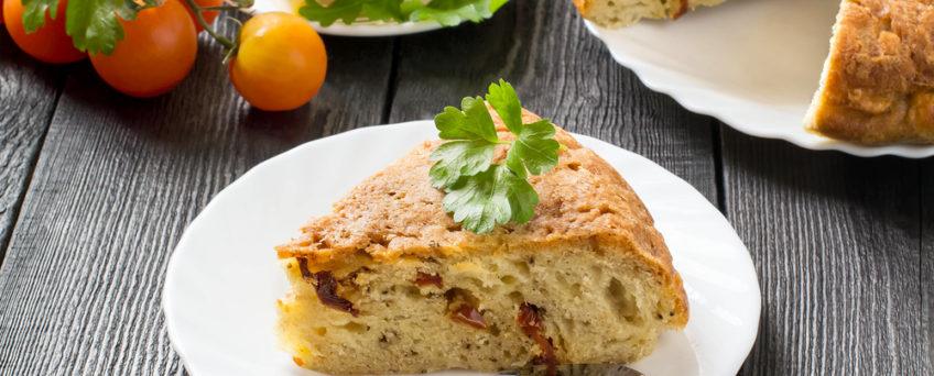 cake italien tomate séchée