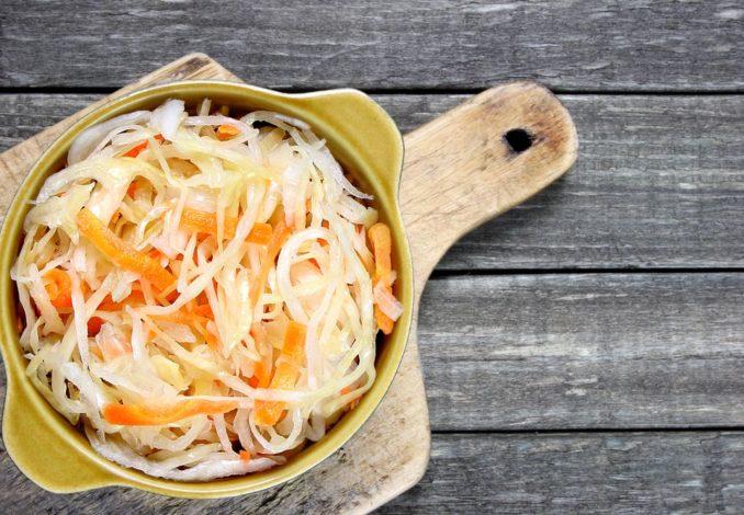 choucroute pommes carottes