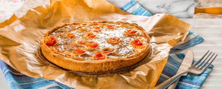 quiche au thon et tomate