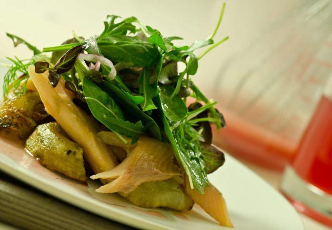 salade de topinambour