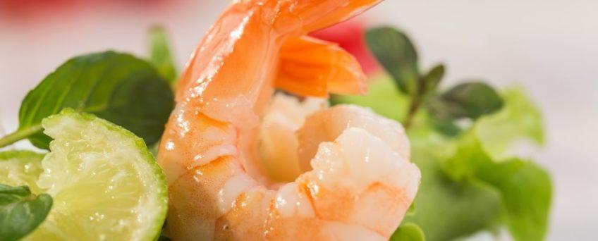 salade thailandaise de crevettes