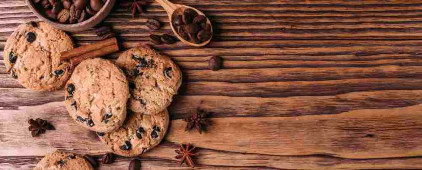 Cookies farine lentille verte