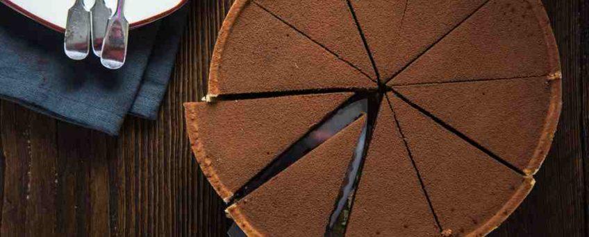 tarte express au chocolat
