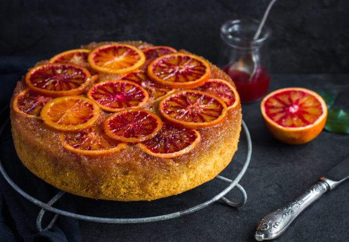 gateau polenta orange