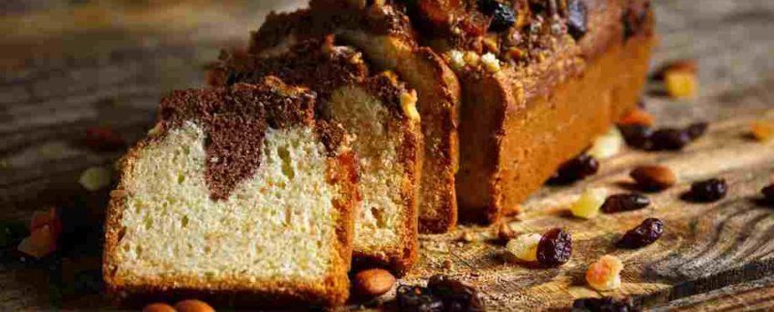 cake marbré chicorée