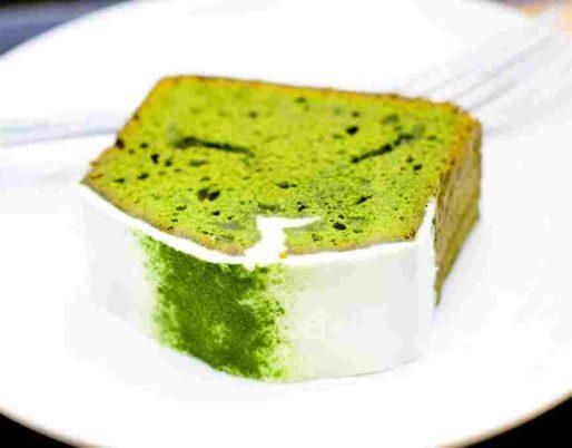 cake thé vert matcha