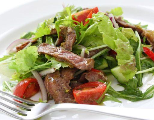 salade thai boeuf