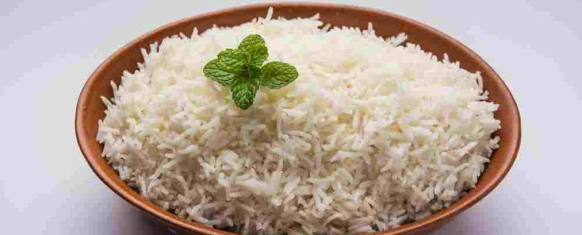 riz menthe