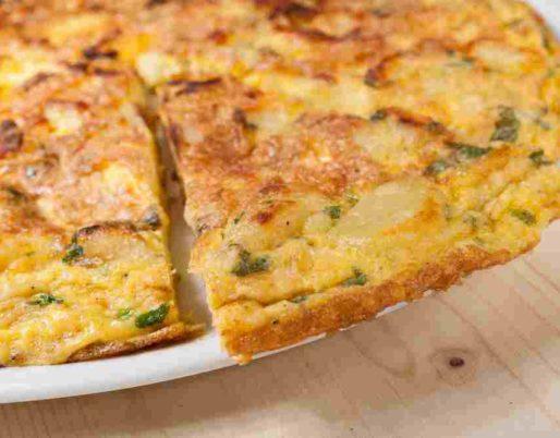 omelette broccio menthe