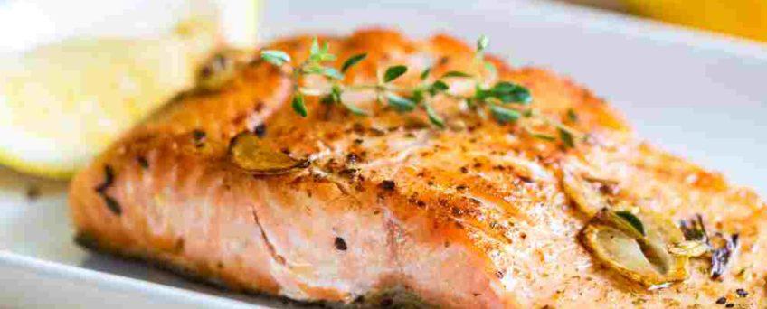 pavé de saumon au thym sumac