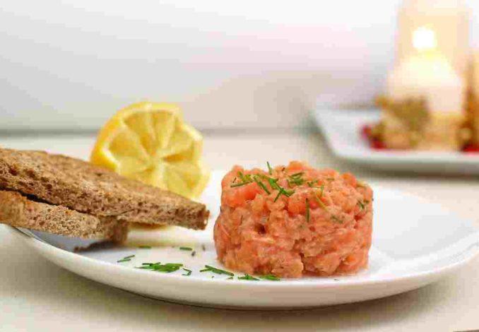 tartare saumon aneth orange
