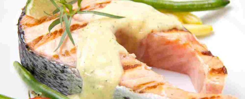 pavé saumon estragon