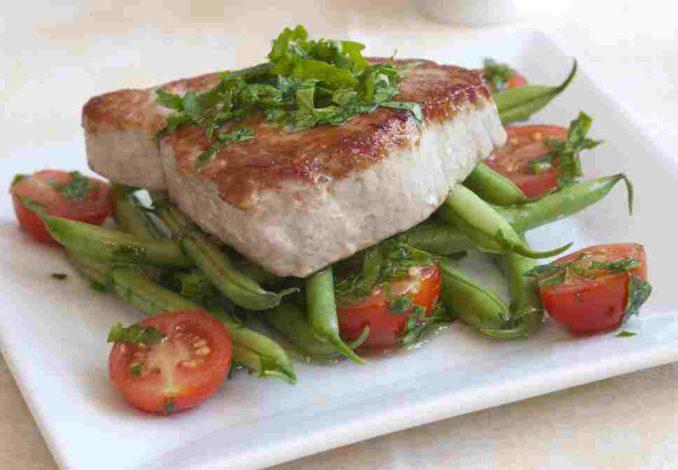 steak de thon ciboulette