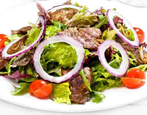 salade agneau sauce fraicheur
