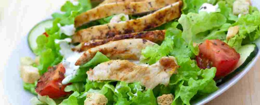 salade dinde anti age